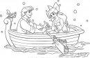 disegno di Ariel con Eric