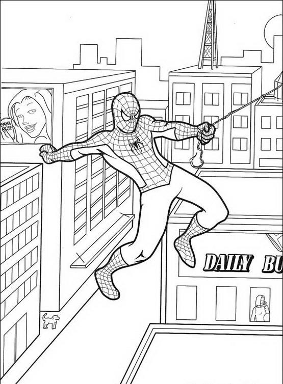 Spiderman da colorare disegni gratis for Spiderman da colorare on line