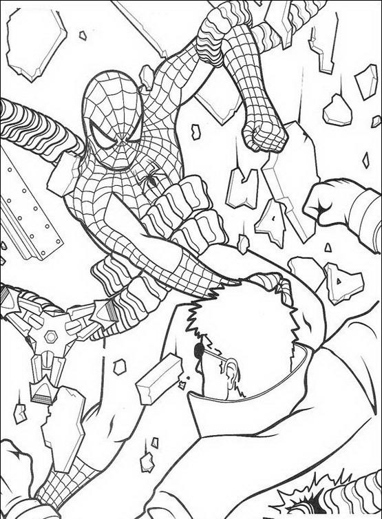 Spiderman da colorare disegni gratis for Disegno di spiderman da colorare