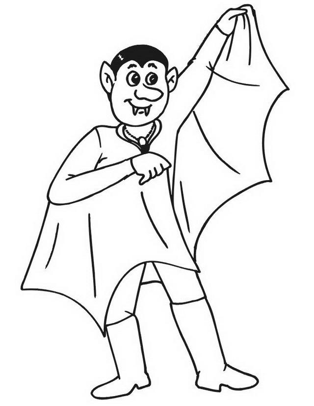 Vampiri da colorare disegni gratis - Dessin vampire a colorier ...