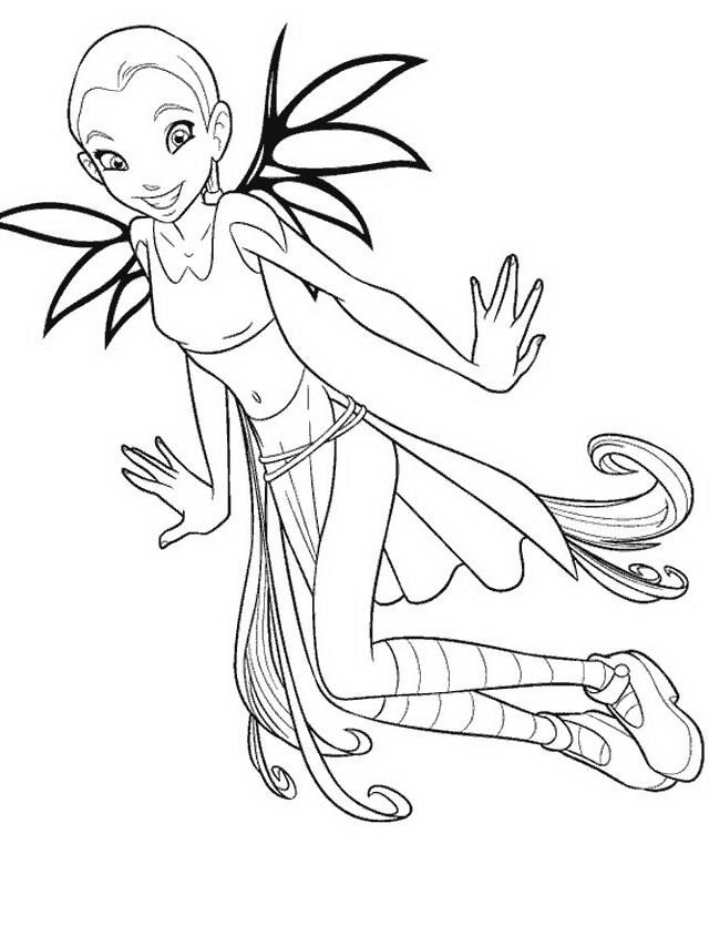 Disegni Witch da colorare e stampare