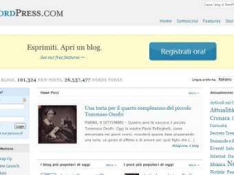 Apri Un Blog Con Wordpress