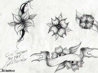 Disegni Tatuaggi Bianco E Nero Gratis