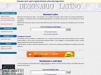 Dizionario Latino Italiano