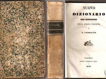 Dizionario Sinonimi