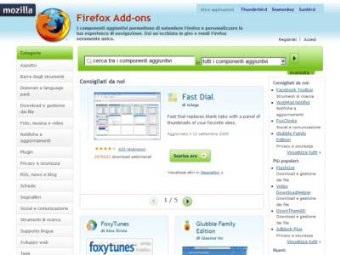 Firefox Add Ons Componenti Aggiuntivi