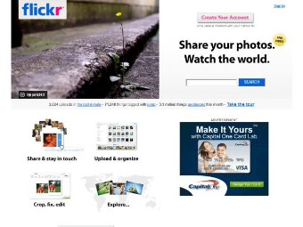 Foto Su Internet Con Flickr