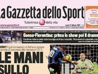 Gazzetta Dello Sport Calcio