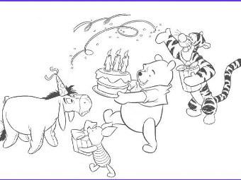 Immagini Da Colorare Di Winnie The Pooh