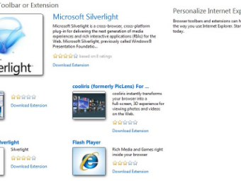 Internet Explorer Addons