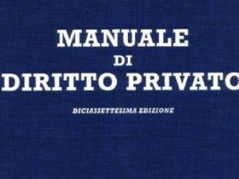 Manuale Di Diritto Privato Online