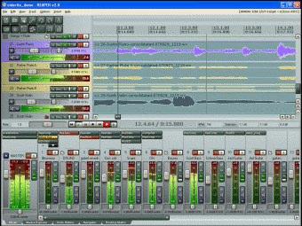 Mixare Tracce Audio Con Reaper