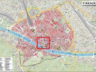 Cartina Citta Di Firenze.Mappa Firenze Gratis
