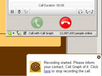 Registrare Le Chiamate Skype In Mp3 Con Call Graph