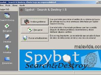 Spybot Search & Destroy Free