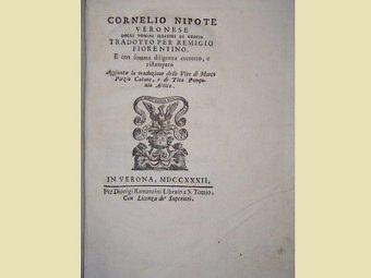 Versioni Cornelio Nepote