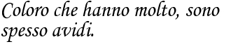 Aforisma di Oscar Wilde sulla avidita frase