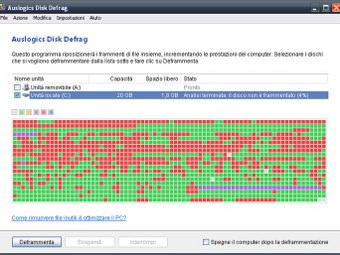 Auslogics Disk Defrag Italiano