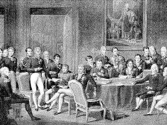 Congresso di Vienna riassunto