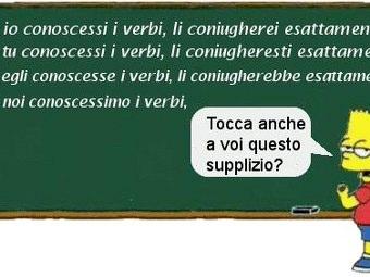 Esercizi verbi