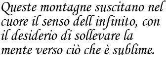 Frase di papa Giovanni  Paolo II sulla bellezza della natura frase
