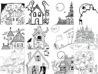 Halloween da colorare disegni gratis for Fantasmi disegni da colorare
