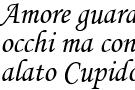 L' amore è cieco come Cupido secondo Shakespeare