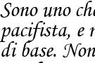 Ligabue dice che essere pacifista non significa inetto