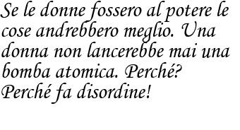 Luciana Littizzetto: le donne al potere frase