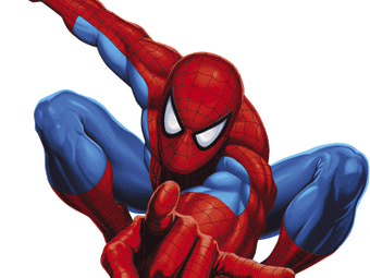 Spiderman Che Balla Cartolina