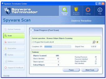 Spyware terminator italiano
