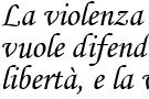 Una frase di Giovanni Paolo II sulla violenza