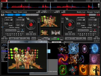 Virtual dj italiano